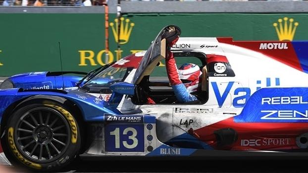 Nelsinho Piquet participou da equipe terceira colocada em Le Mans
