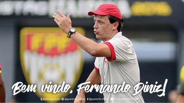 6790936a057fe Fernando Diniz é anunciado como novo técnico do Guarani - ESPN