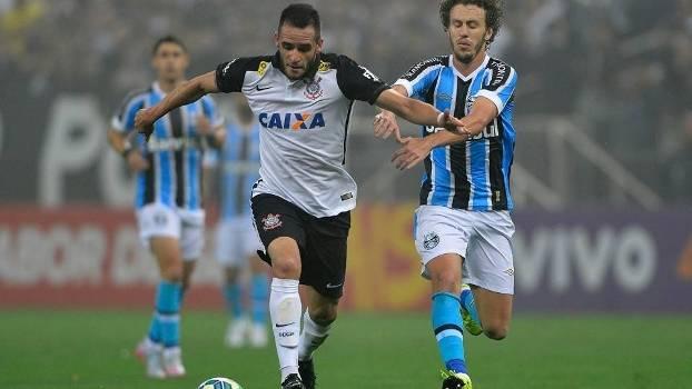 Corinthians e Grêmio fizeram jogo duro e empataram em Itaquera