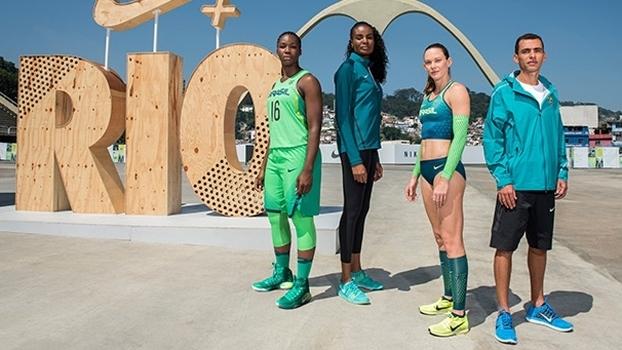 66b62ee7d Atletas brasileiros apresnetaram uniformes dos Jogos Olímpicos