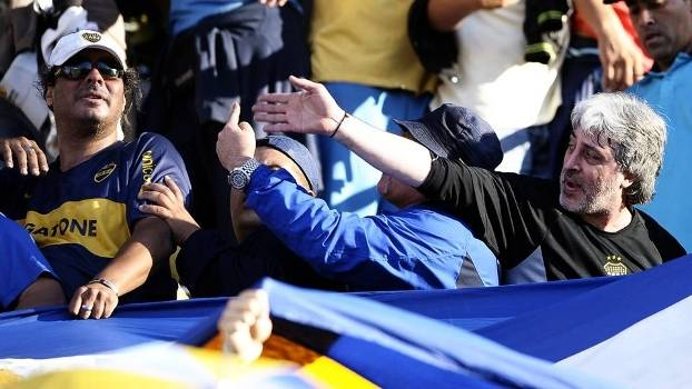 Rafael Di Zeo La Doce Boca Juniors La Bombonera 30/10/2011