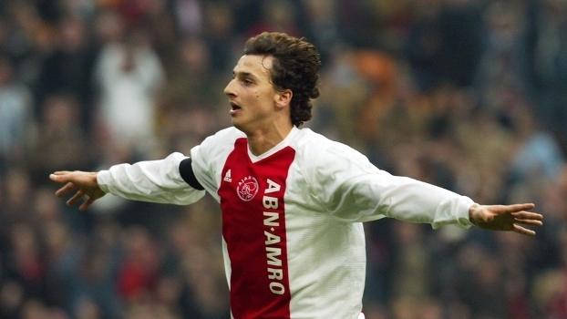 Ibrahimovic, quando jogava pelo Ajax
