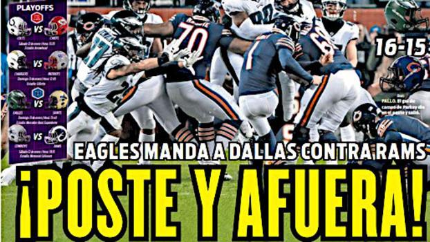 Capa do jornal mexicano Récord em 7 de janeiro d34c396b96a