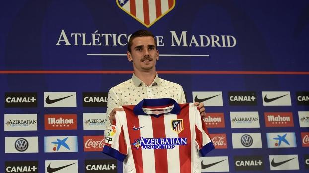 Griezmann comemora chegada ao Atlético de Madri: 'Assim que me ligaram, vim direto' - ESPN