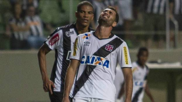 Gilberto lamenta: rotina vascaína no início do Brasileiro