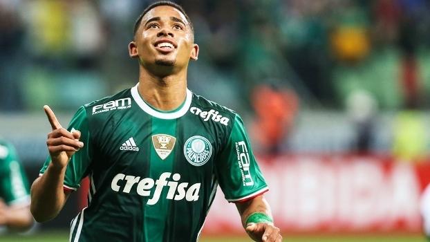 Gabriel Jesus ficará no Palmeiras até o final da temporada