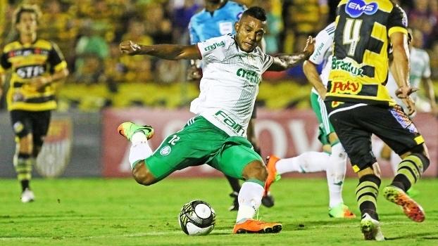 Borja Palmeiras Novorizontino Campeonato Paulista 02/04/2017