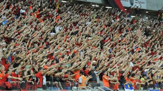 Torcida do Sport lotou a Arena Pernambuco