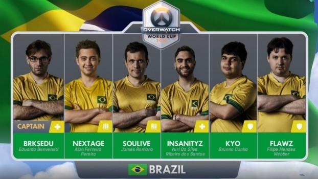 703bbe2678 Seleção brasileira de Overwatch teve influenciadores