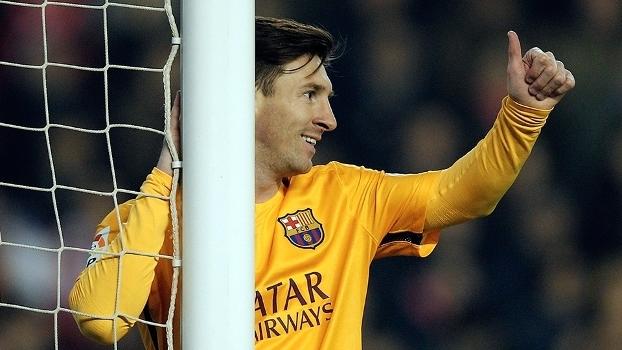 E não é que Messi abriu a boca   c98de261b7a80