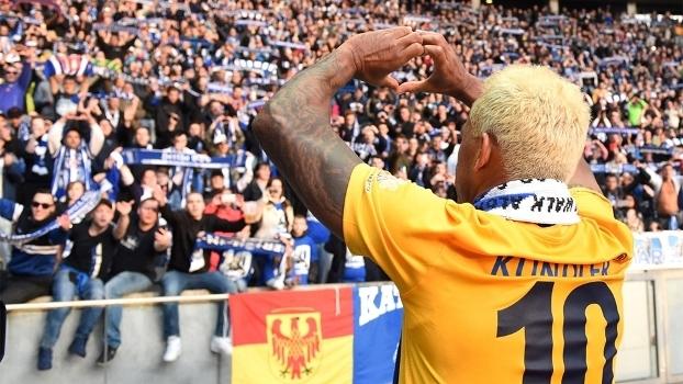 Marcelinho Paraíba lotou o estádio em Berlim