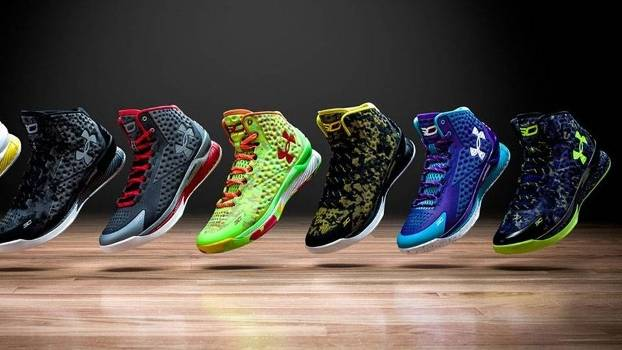 2fcbfcde450b6 Há dois anos, Nike dispensou Curry; agora, ele é astro da rival e sucesso  de vendas - ESPN