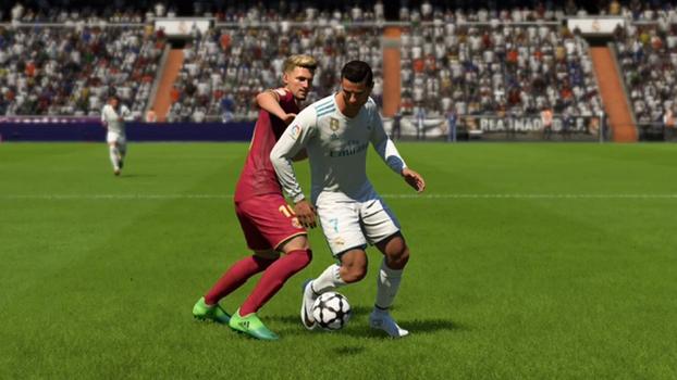 e2758906f1523 Poucos jogadores de FIFA 18 tem a mesma competência nos dribles como  Cristiano Ronaldo.