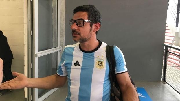 Matias Oliveira, torcedor que trocou socos com brasileiro