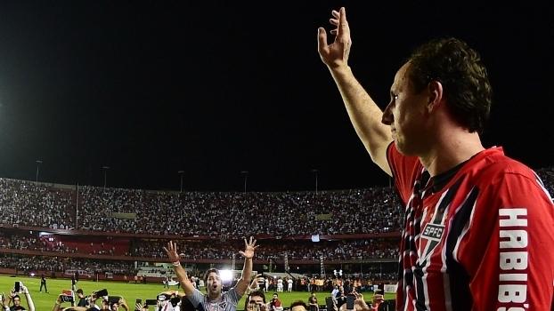 Rogério Ceni se despediu do São Paulo