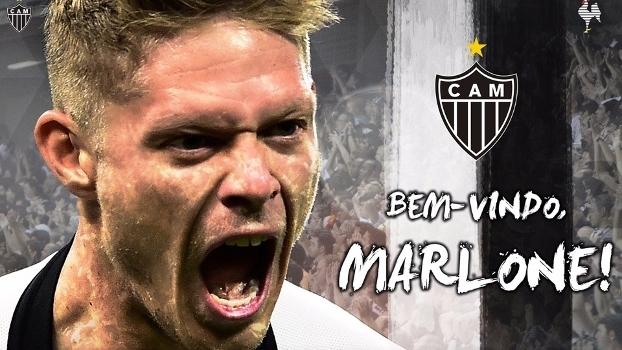 Marlone oficializado no Atlético-MG