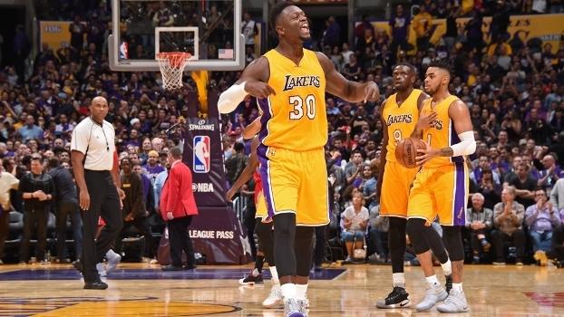 Randle se recuperou de lesão e ganhou espaço nos Lakers