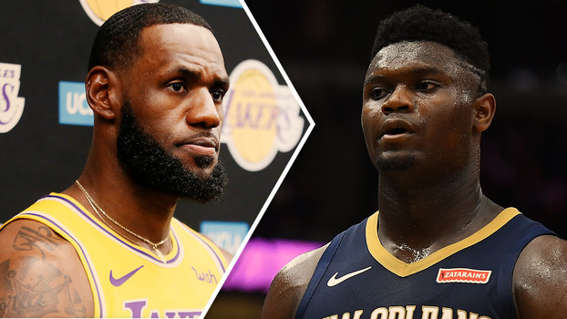 LeBron James e Zion Williamson
