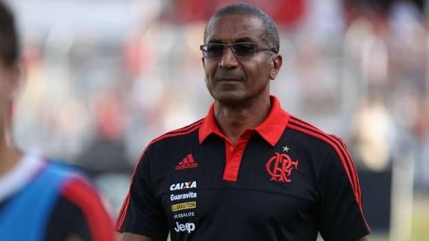 Cristóvão Borges durante derrota do Flamengo para a Ponte Preta