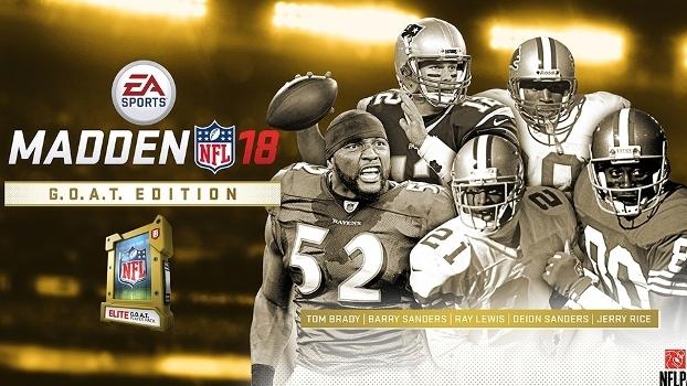 Quem comprar a versão especial recebe um dos 'G.O.A.T. players', cinco dos melhores jogadores de todo os tempos.