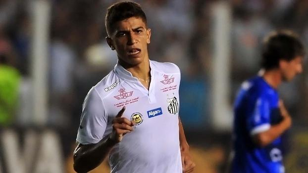95f01d0203 Santos acerta contratação de Vitor Bueno de forma definitiva até ...
