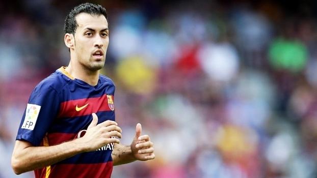 Busquets nem pensa em trocar o Barcelona por outro time