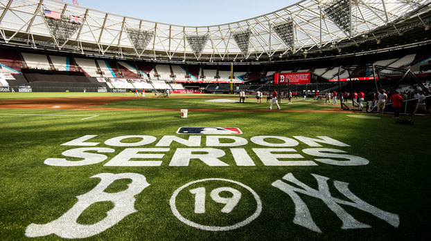 Estádio do West Ham irá receber Boston Red Sox New York Yankees