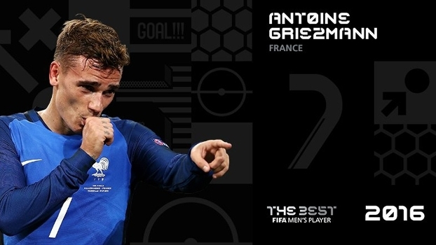 Griezmann, um dos candidados a melhor do mundo em 2016