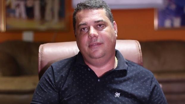 Rogério Manso Moreira, candidato de oposição da Ferj