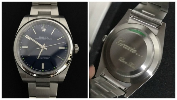 a751a00951e  Rolex  dado de presente a Rafael por Luca Toni.