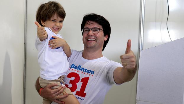 Guilherme Bellintani foi eleito novo presidente do Bahia para o triênio  2018-2020 aba4e319b1921