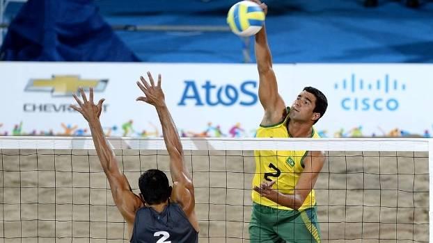 Brasileiros acabaram com a medalha de prata nesta terça-feira