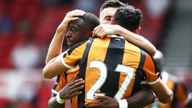 Hull City Comemora Gol Nottingham Forest Amistoso 30/07/2016