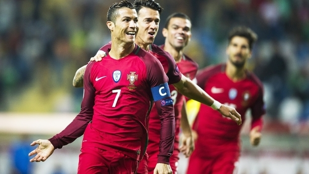Cristiano Ronaldo Comemora Gol Portugal Andorra Eliminatorias Copa-2018  07 10 2016 9890199ff131d