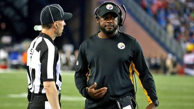 Mike Tomlin, dos Steelers, reclamou de interferências na comunicação
