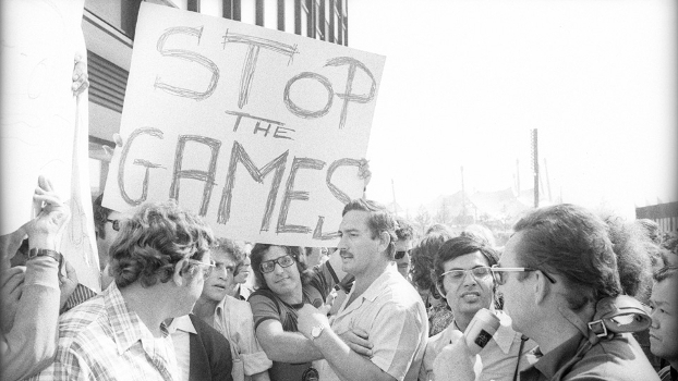 Protesto Atentato Setembro Negro Jogos Olimpicos Munique-1972 Stop The Games 05/09/1972