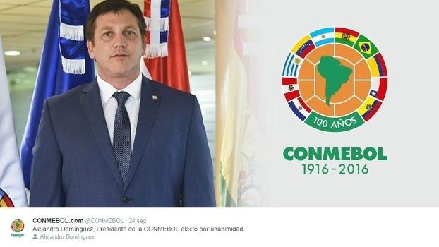 Alejandro Domínguez, o novo presidente da Conmebol