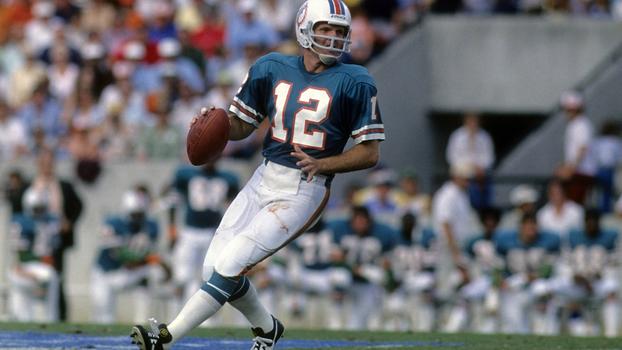 7a4bd61045 Bob Griese em ação pelo Miami Dolphins