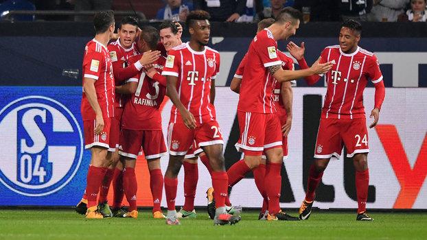 Bayern de Munique venceu o Schalke 04 em Gelsenkirchen