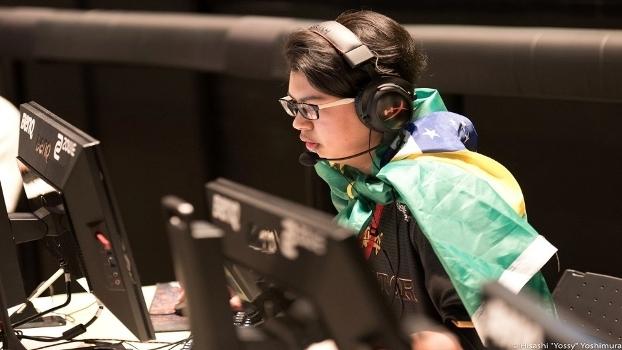 Apesar de ter passado toda a vida no Japão, guin ainda mantém lado brasileiro vivo durante as competições
