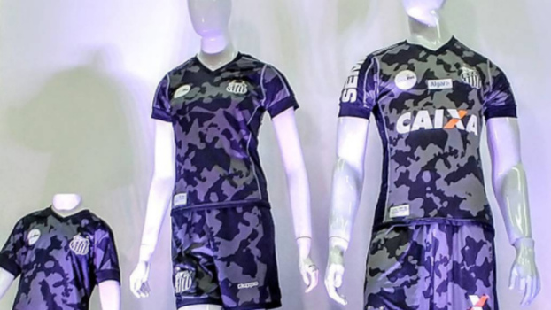 d30c21744f Santos lança terceira camisa  camuflada  e fará estreia contra o ...