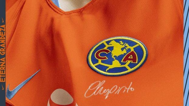 América do México faz homenagem ao Chaves e lança camisa especial ... cfedc53128136
