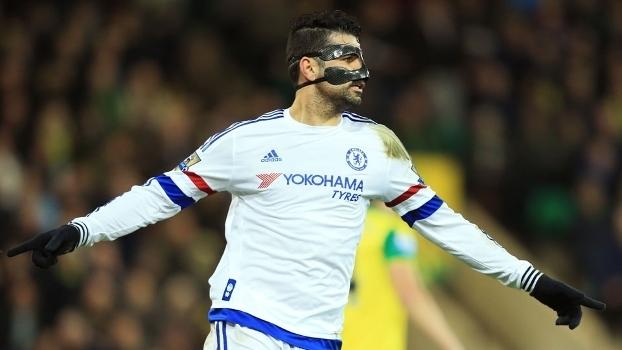 Diego Costa marcou seu décimo gol nos últimos 14 jogos pelo Chelsea