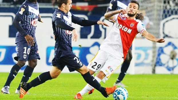 Boschilia Monaco Bordeaux Copa da Liga Francesa 16/12/2015
