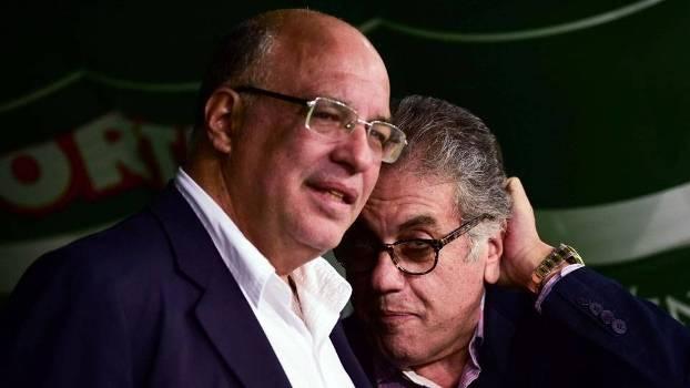 Ataíde Gil e Carlos Miguel Aidar se desentenderam nesta segunda-feira