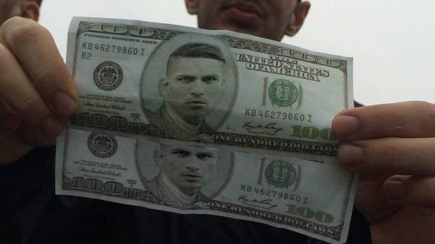 Nota Guerrero dólar