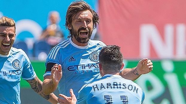 Andrea Pirlo desfila seu talento pelos gramados da MLS de9ec7a6d5e2f