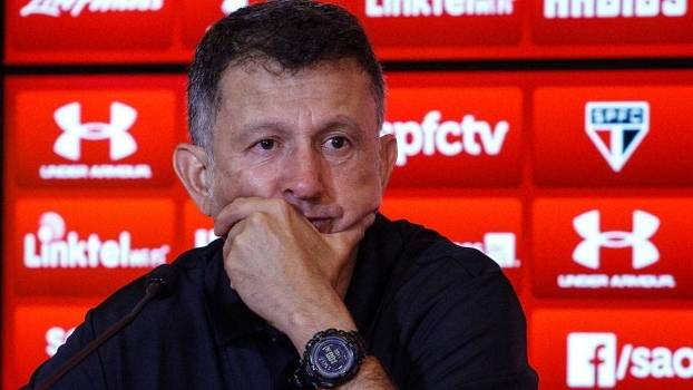 Juan Carlos Osorio falou sobre muitos assuntos na entrevista coletiva