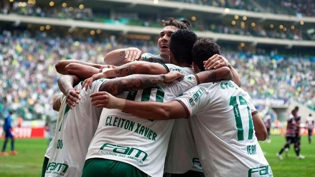 Palmeiras tem lotado suas partidas ao longo do Brasileirão desse ano