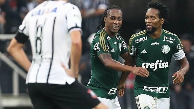 1f827a7265 Ze Roberto Comemora Gol Palmeiras Corinthians Campeonato Brasileiro 31 05  2015